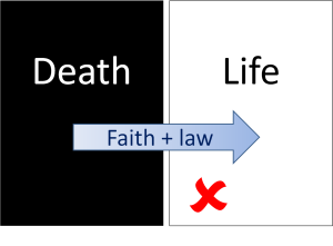 Faith plus law